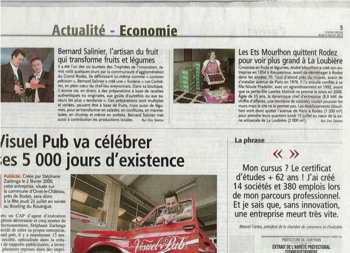 Centre presse du 4 juillet 2013