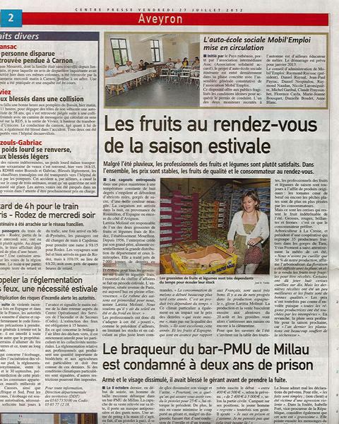 Les Ets Mourlhon quittent Rodez pour voir plus grand à La Loubière